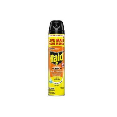 Inseticida Raid Multi Insetos Citronela Leve + Pague - 420 Ml.