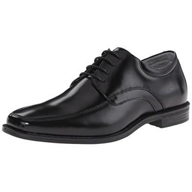 Sapato masculino Forum Moc Toe Oxford Florsheim, Preto, 7.5 X-Wide