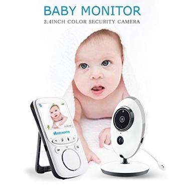 Imagem de Babá eletrônica com termômetro baby monitor VB605