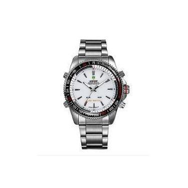 184d1c062eb Relógio Masculino Weide Anadigi Wh-903 Pr-Br
