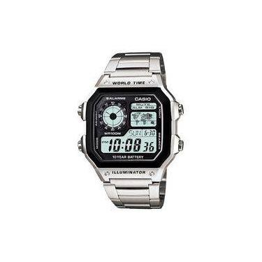 a9979635783 Relógio Masculino Digital Casio Multifunção AE-1200WHD-1AVDF