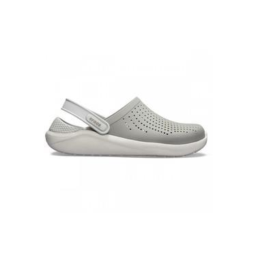 Sandalia Crocs Literide Clog - Cinza+Branco