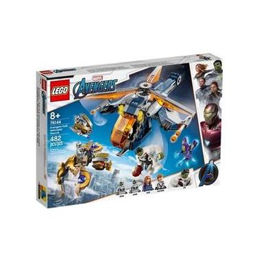 Lego 76144 Super Heroes Marvel - Resgate De Helicóptero Dos Vingadores Hulk