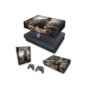 Capa Anti Poeira e Skin para Xbox One X - Dead Rising 3