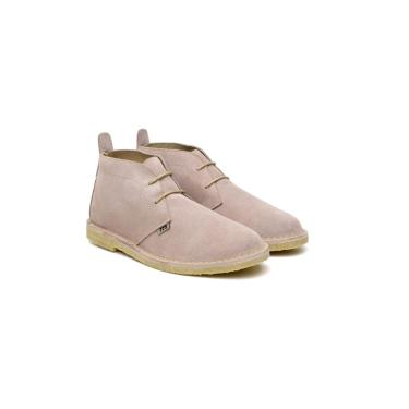 Bota Retrô 775 Camping Vintage Style Taupe  unissex