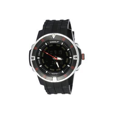 5debd57461f Relógio Digital Analógico Speedo 81127G0 - Masculino - PRETO Speedo