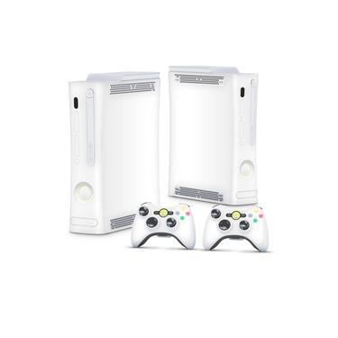 Skin Adesivo para Xbox 360 Fat Arcade - Branco