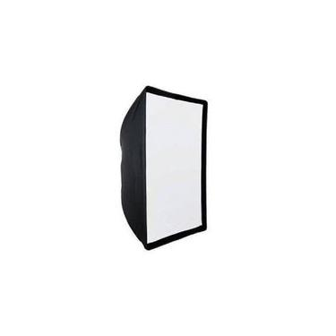 Softbox 60x90 Universal Tipo Sombrinha Flash Tocha Contínua