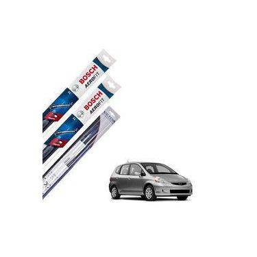Limpador Parabrisa Dianteiro E Traseiro Honda Fit 2003-2007