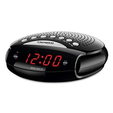 Rádio Relógio Sleep Star III com Display Digital, Bivolt, Mondial -RR-03.