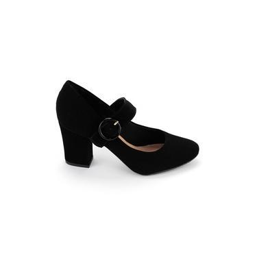 Sapato Scarpin Salto Bloco Boneca Villa Rosa 9