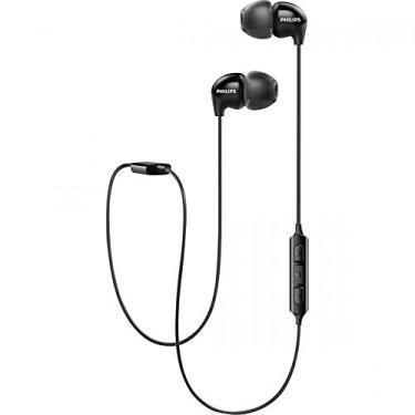 Fone De Ouvido, Philips Bluetooth, SHB3595BK/10 in ear com microfone