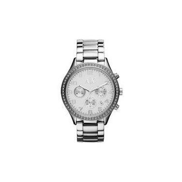 09438aa3575 Relógio Armani Exchange Feminino Prata - Uax5109 n