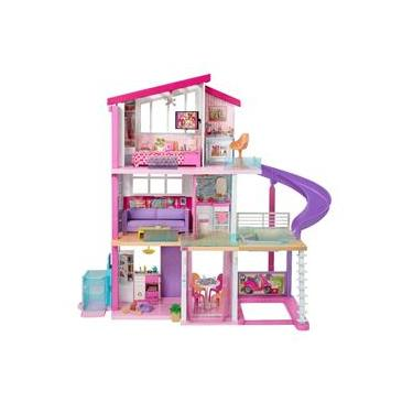 Imagem de Brinquedo Casa Dreamhouse Barbie Com Elevador Mattel GNH53