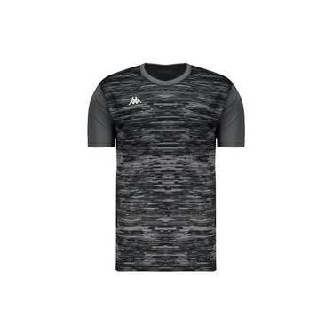 d1a3e9be9b Camiseta Kappa Jenner Grafite