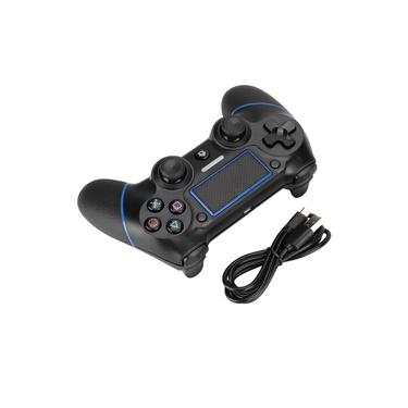 PS4-3 Jogos Wireless Handle Controlador ABS preto clássico Ergonomic Aparência