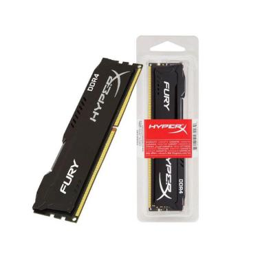 Memória Hyperx Fury 8Gb 2666Mhz Ddr4 Black Hx426C16Fb3/8