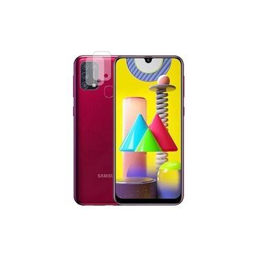 02 Película Nano Gel Flexível P/ Lente de Câmera Samsung Galaxy M31