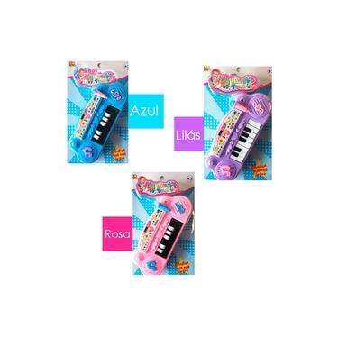 Mini Piano Musical Brinquedo C/ Sons