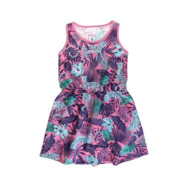 Vestido Infantil Marisol Summer Azul-Marinho Marisol