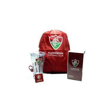 Copo De Acrilico Com Mochila Do Fluminense Kit Personalizado Para Presente  Decoração Tipo Saco 90a5008cd2aee