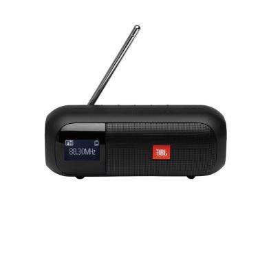 Imagem de Caixa De Som Portatil Jbl Tuner 2 Fm Com Bluetooth A Prova De Agua - Preto
