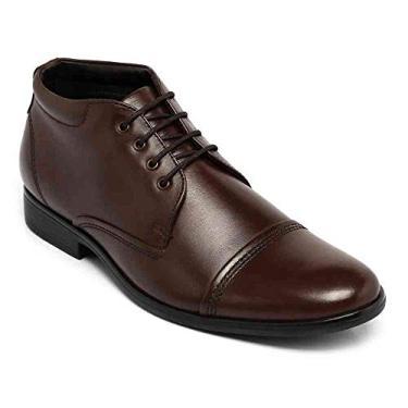Bota democrata masculina couro class mahogany marrom 118102-019