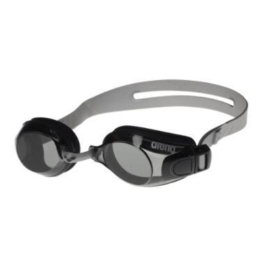 Arena Oculos Zoom X-Fit Lente Fume, Preto/ Cinza