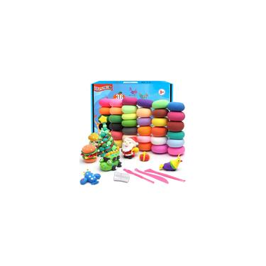 Imagem de IFergoo Air Dry Clay Kit - 36 cores Magic Modeling Ultra Light Clay, Safe & Non-Toxic, Kids Art Crafts Gift for Boys and Girls