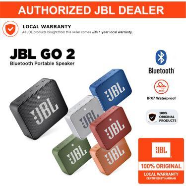 Jbl go 2 sem fio bluetooth alto-falante (produtos em estoque de 2018 a 2020)