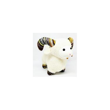 Imagem de Pelucia tipo carneiro branco fizzi 25 cm