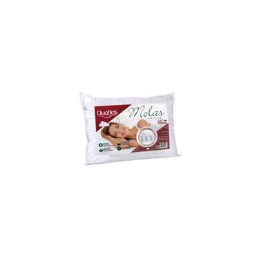Imagem de Travesseiro Molas Cervical Duoflex p/ Dormir De Lado MN2101