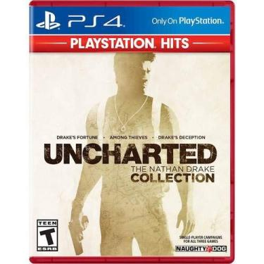 Jogo Uncharted The Drake Collection PS Hits - Ps4 Mídia