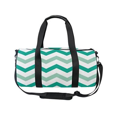 Bolsa Cooper Girl verde branca turquesa bolsa de viagem esportiva academia