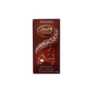Chocolate Lindt Lindor Hazelnut 100g