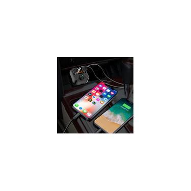 Carregador Veicular (2 usb) Player bluetooth para carro som automotivo