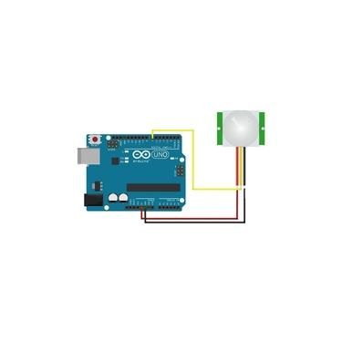 Imagem de Sensor de Presença e Movimento PIR HC-SR501 para Arduino