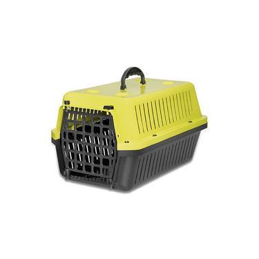 Caixa de transporte para cães e gatos Amarelo N 3