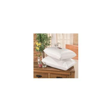 Imagem de Protetor Capa Travesseiro Impermeável 2 Peças Branco