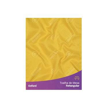 Imagem de Toalha De Mesa Retangular Em Oxford Amarelo Ouro