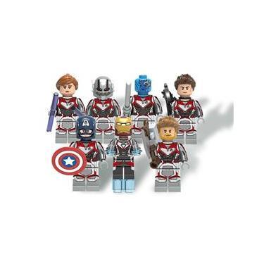 Kit Lego C/ 7 Bonecos Marvel Vingadores Ultimato Endgame