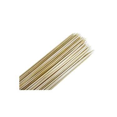 Imagem de 50 Palito De Bambu Espeto Para Churrasco 18cm