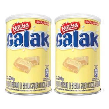 2 Latas Achocolatado Galak Edição Limitada 200 Gramas - Nestle