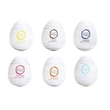 Kit Super Egg Masturbador Masculino Formato Ovo 6 Unidades
