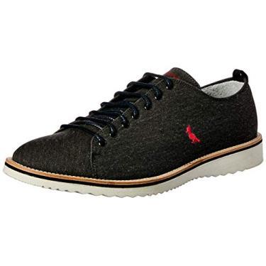 Sapato Casual Paul, Reserva, Masculino, Preto, 43