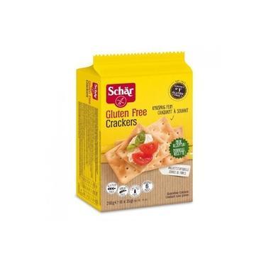 Biscoito Salgado Tipo Crackers Schar Sem Glúten E Lactose 210g