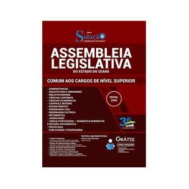 Imagem de Apostila AL CE Assembleia Legislativa Ceará - Nível Superior