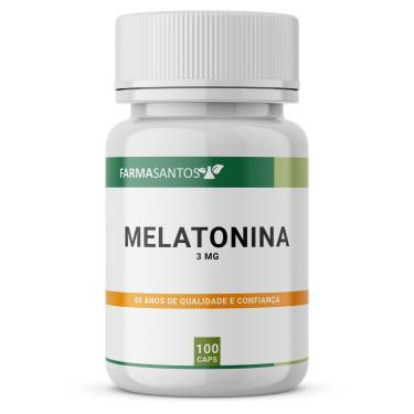 Imagem de Melatonina 3Mg 100 Cápsulas