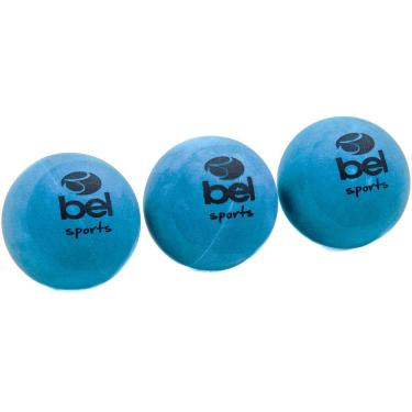 Kit 3 Bolinhas de Borracha Bel Sports