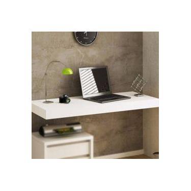 Bancada Escrivaninha Suspensa Mesa Mdf Notebook